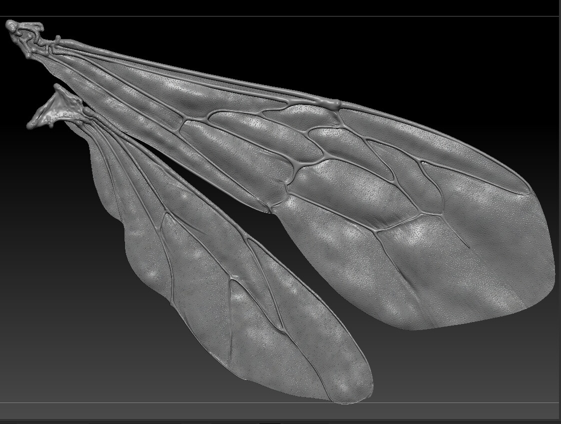 Eric keller zbrush bee wings