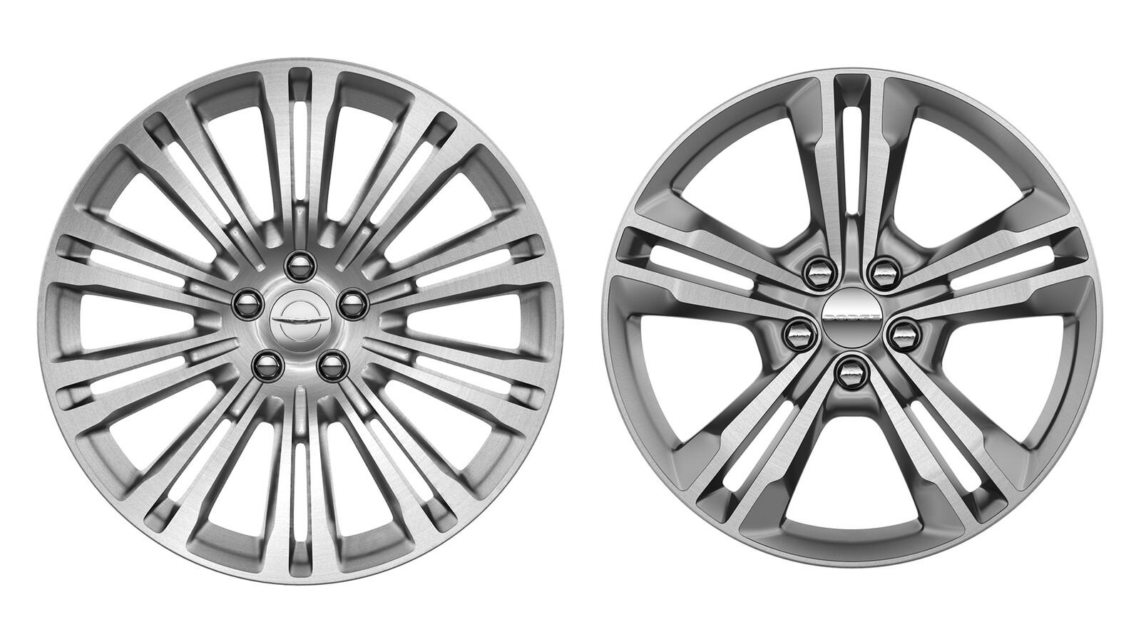 Chrysler & Dodge Wheels Tasks: Materials, Lighting, & Retouching