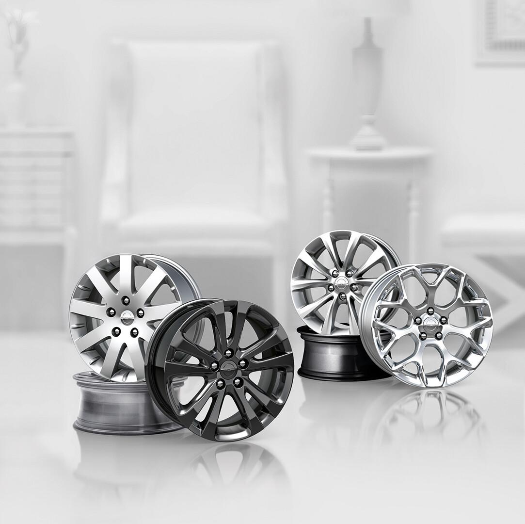 Chrysler Wheels Tasks: Materials & Lighting