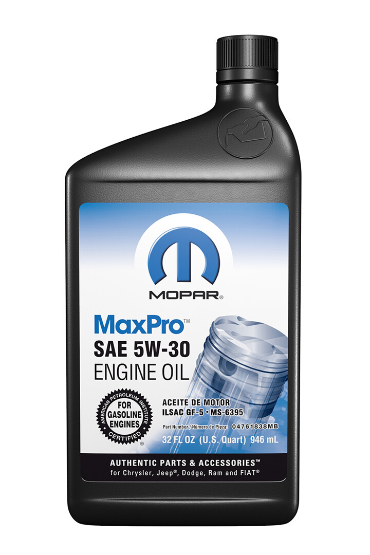 Mopar Oil Bottle