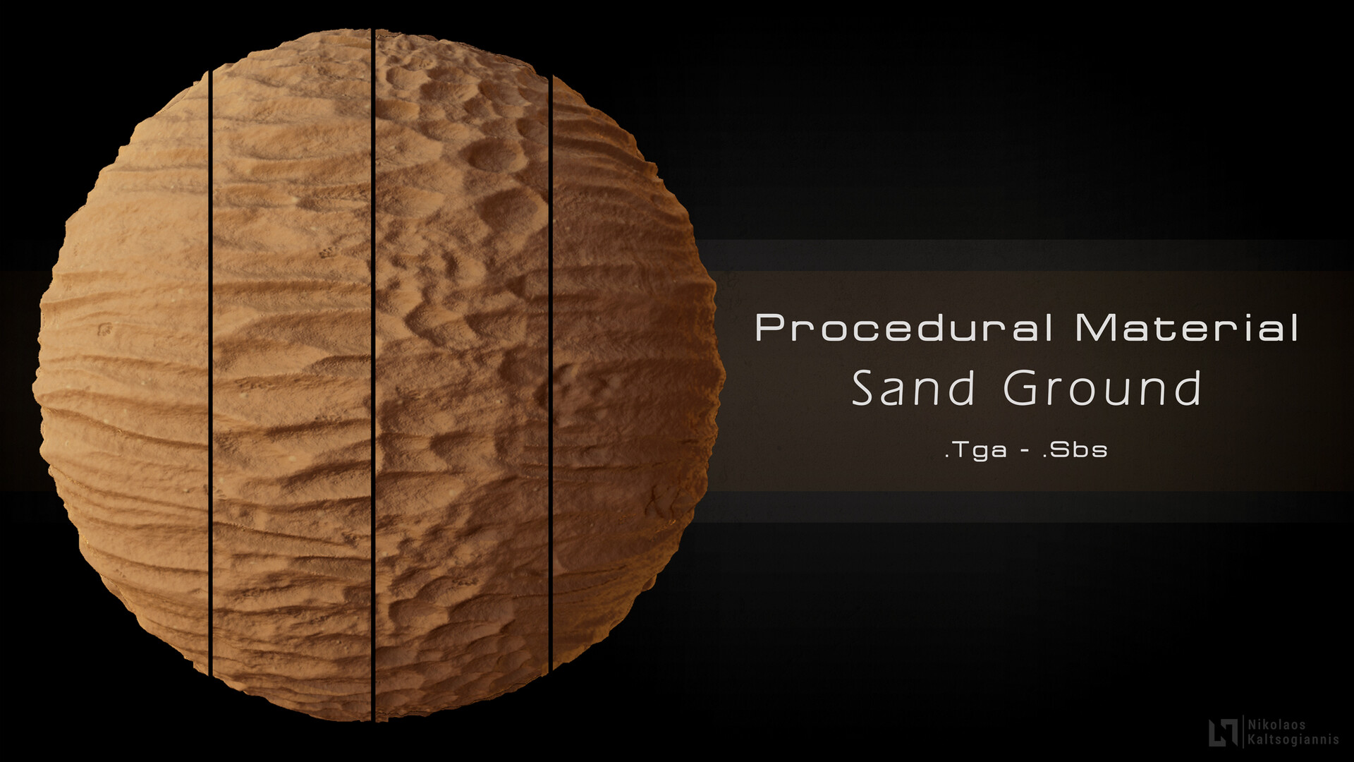 Store: https://www.artstation.com/nickoxart/store/O6OX/procedural-sand-material-4-variations