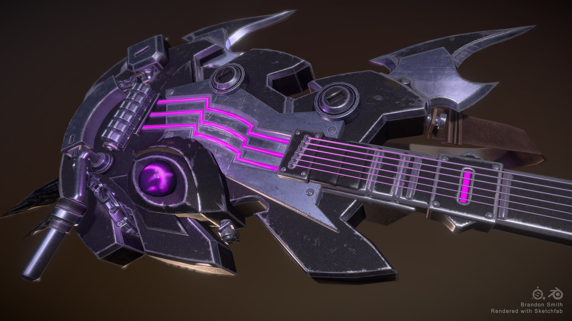 Brandon smith guitar render 3