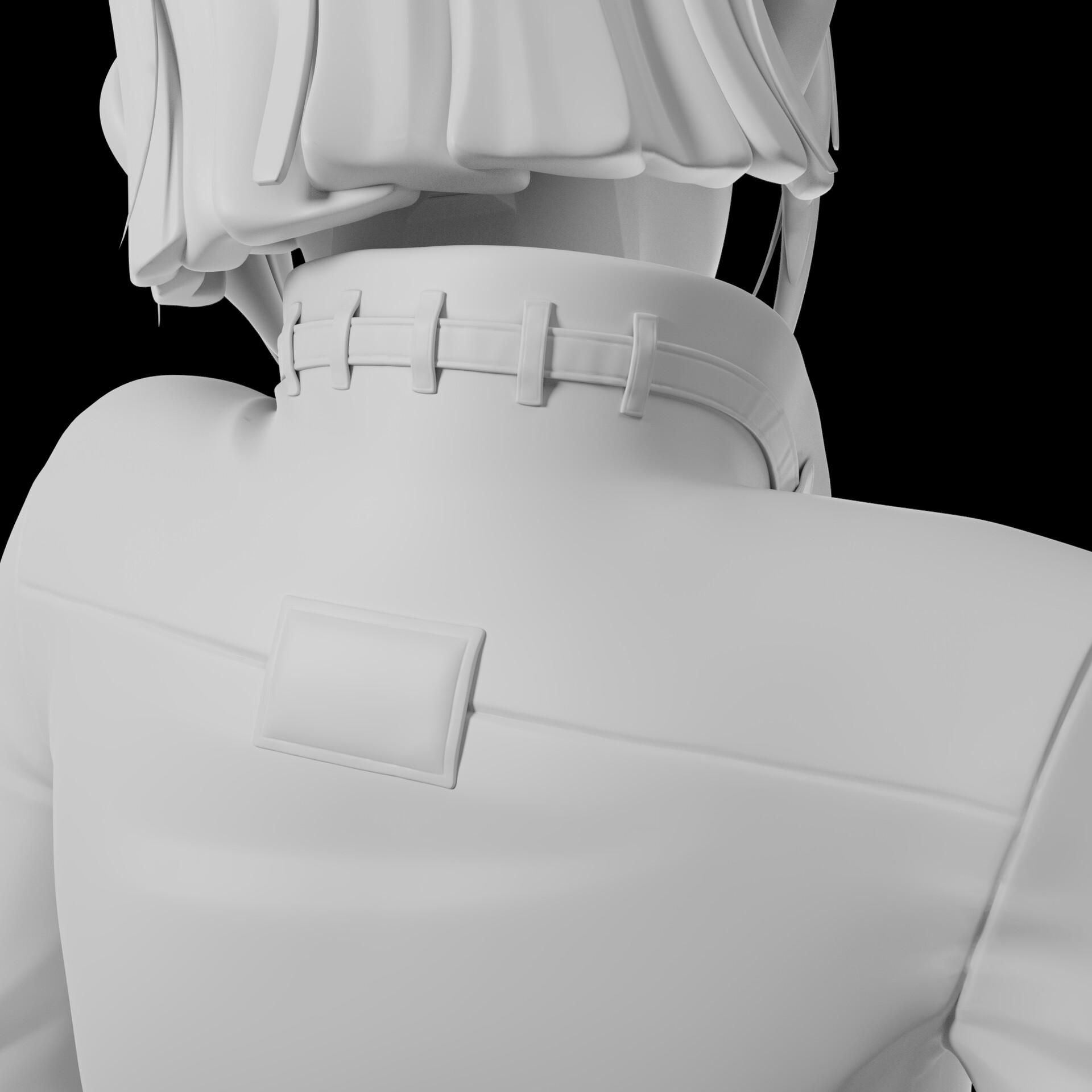 Sergi camprubi detail clay render 07
