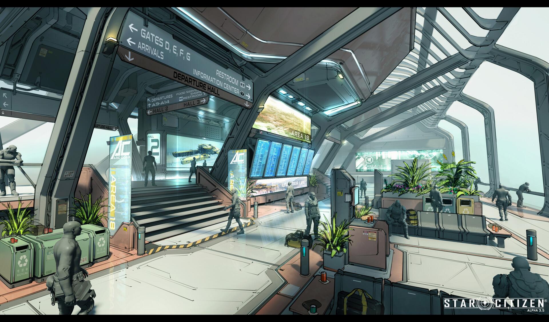 space port interior 1
