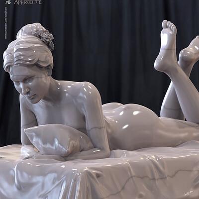 Surajit sen aphrodite digital sculpture surajit sen oct2019