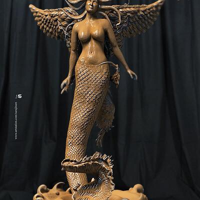 Surajit sen lina v01 digital sculpture surajitsen oct2019