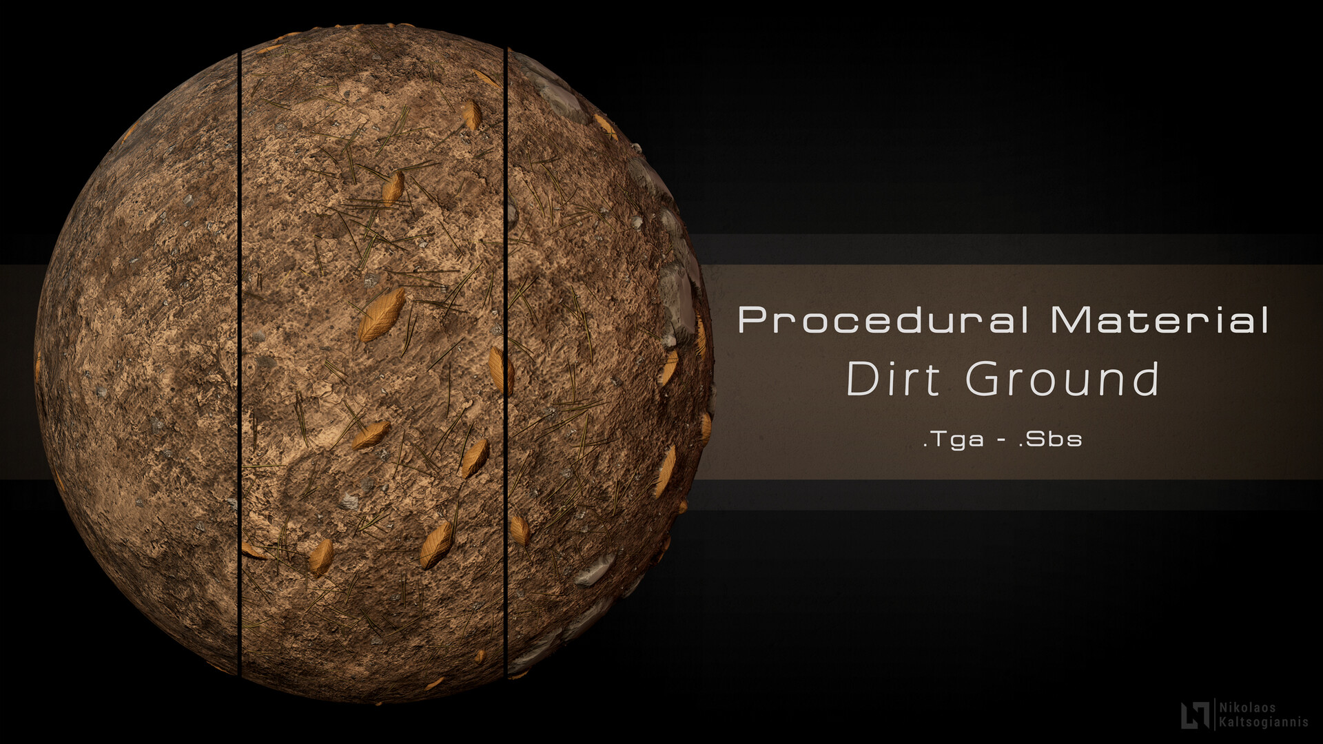 Srore: https://www.artstation.com/nickoxart/store/NKXd/procedural-dirt-ground-material-3-variations