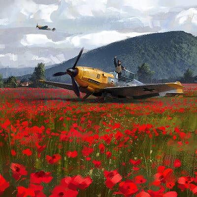 Alex ichim poppies propellers