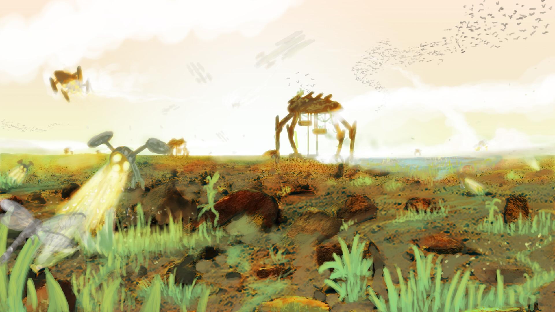 Alexander laheij mars environment