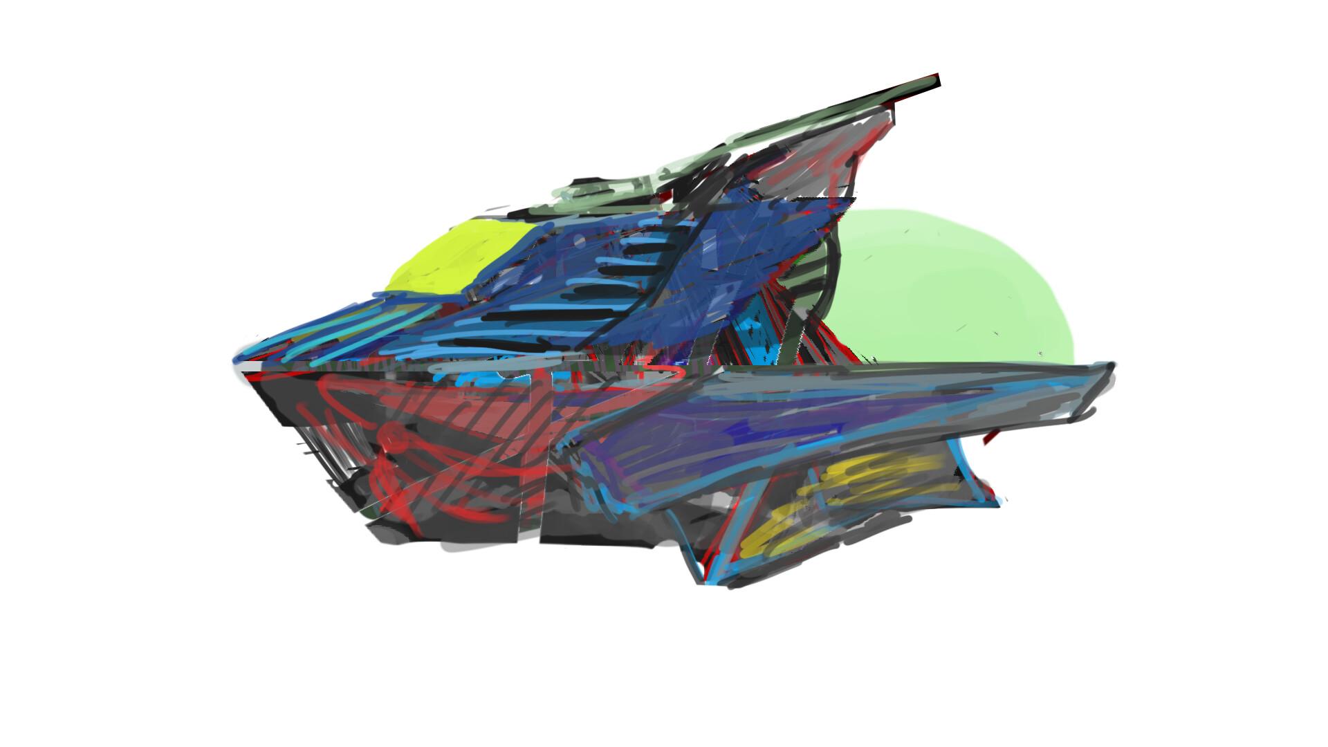 Alexander laheij ship sketch 02