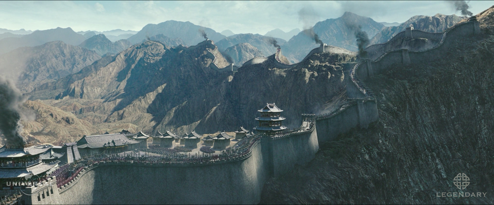 Digital Matte Painting and Environment Generalist Extension and Enhancements. A teamwork effort! Final comp is done by another vendor.