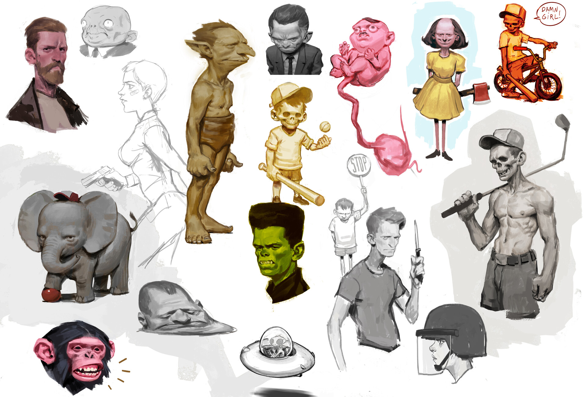 Jens claessens sketchbookpage