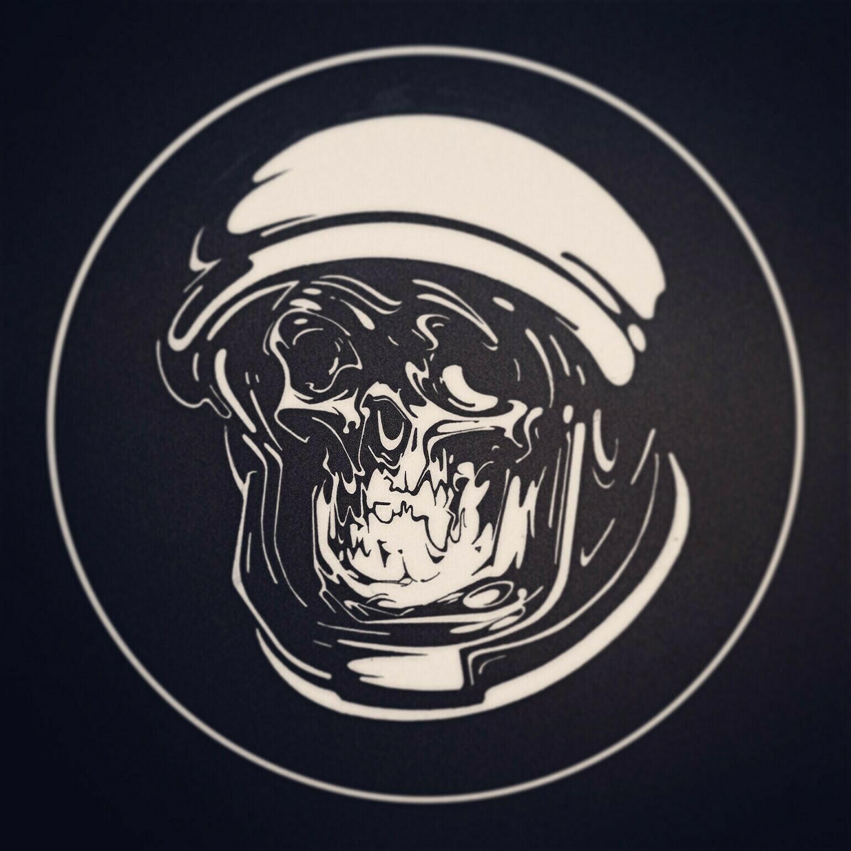 Astronaut Logo Print