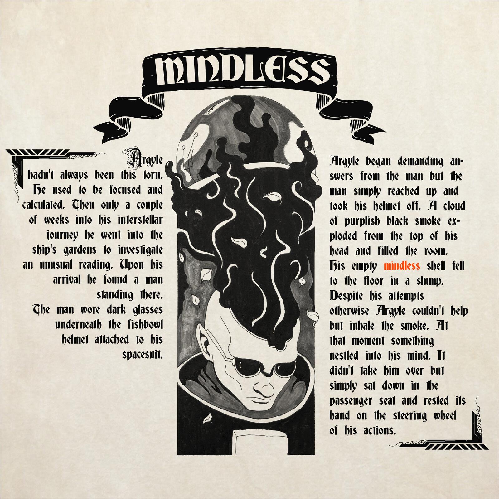 Inktober Tale Day 2: Mindless