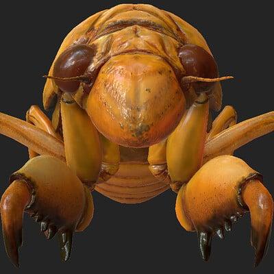Eric keller cicada nymph textured 02