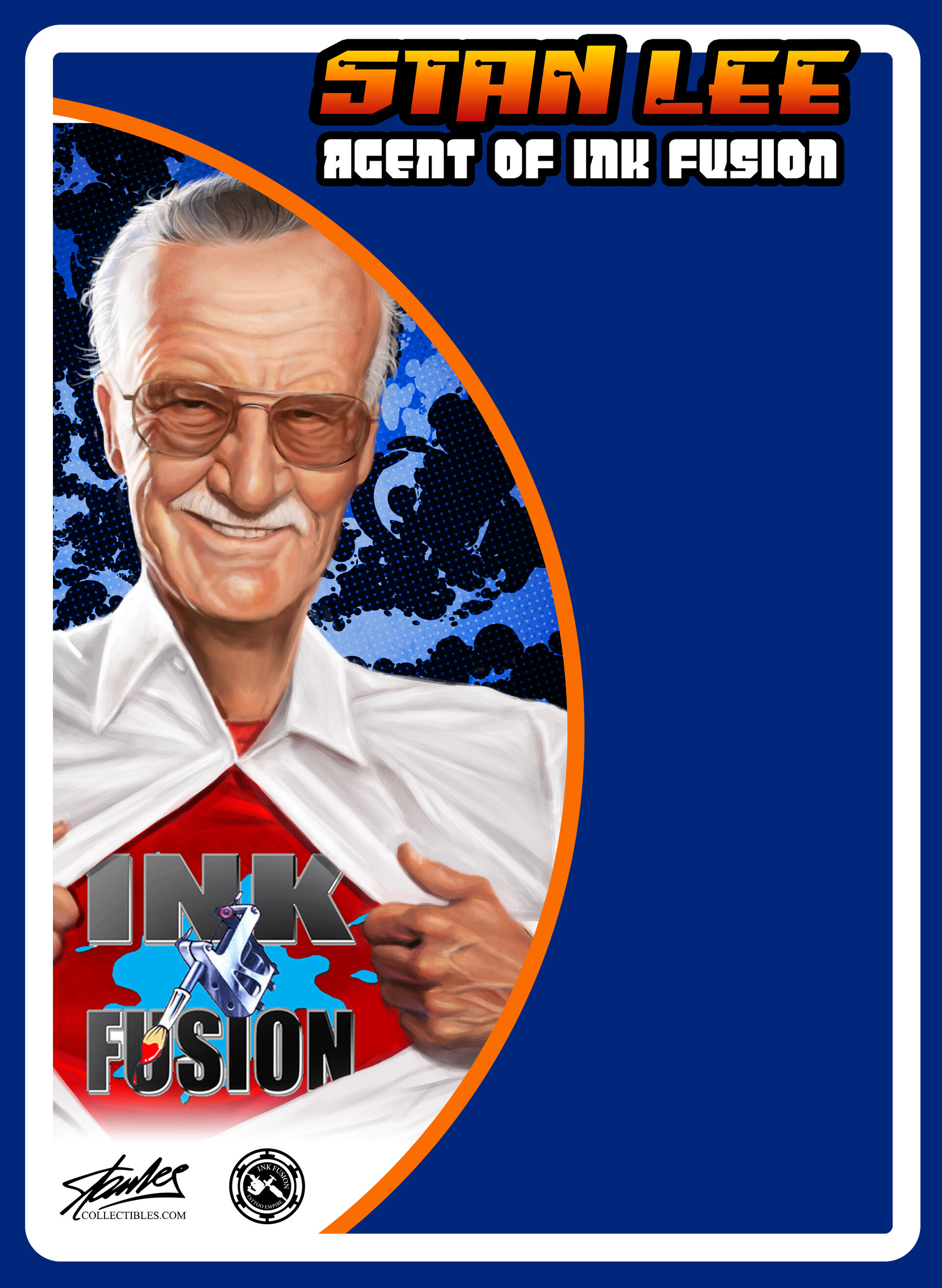 George joseph stan lee mego front