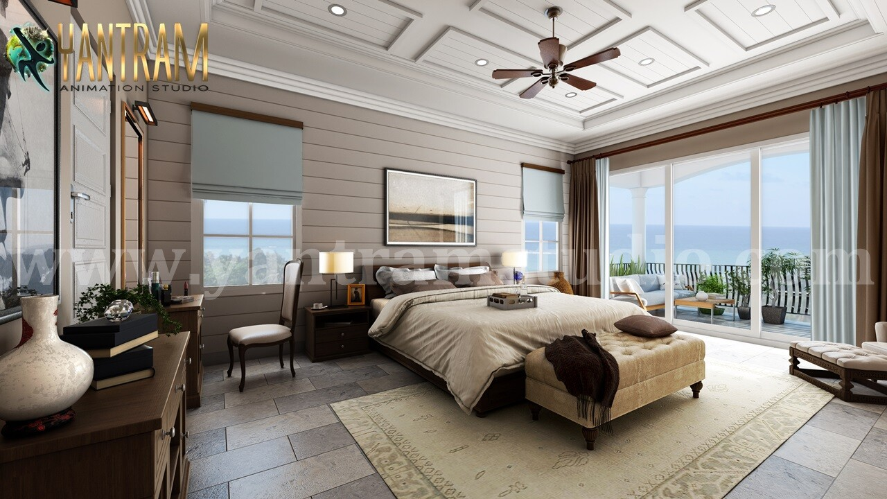 ArtStation - Contemporary Master Bedroom with Species ...
