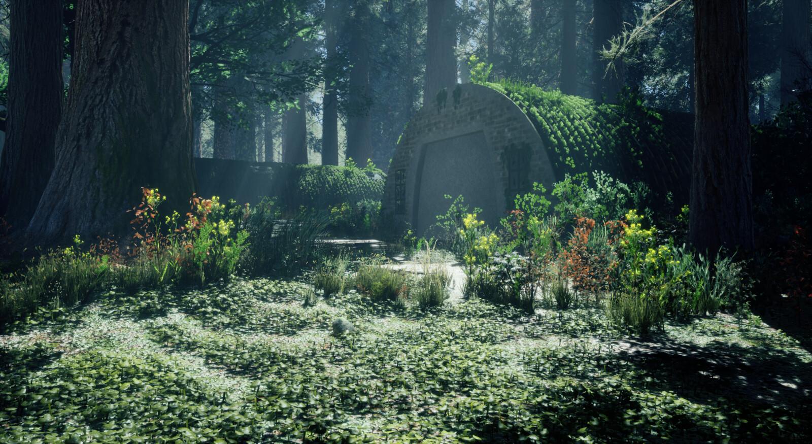 Jungle-Bunker