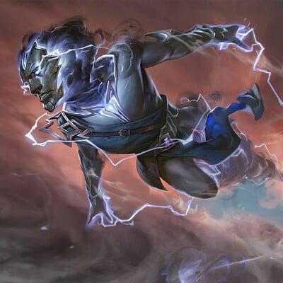 Rudy siswanto lightning stormkin artstation