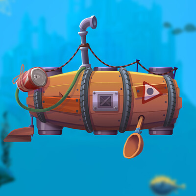 Yury volkov submarine lvl 1