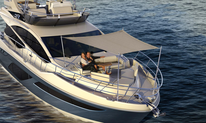 Sea Ray 550 Tasks: Modeling (seats & shade canopy)
