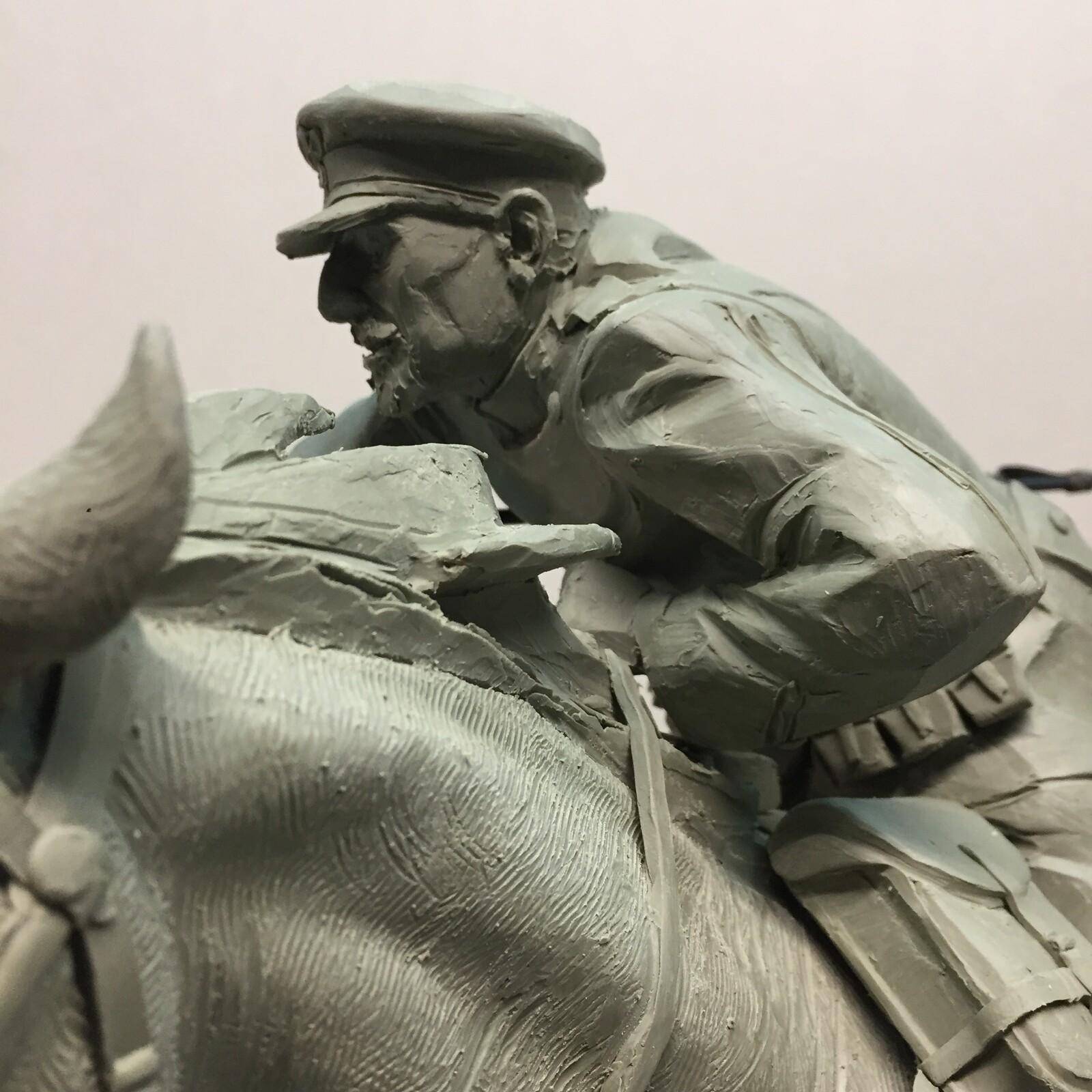 Monument the Polish cavalry.