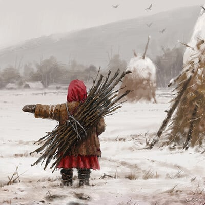 Jakub rozalski good girl small