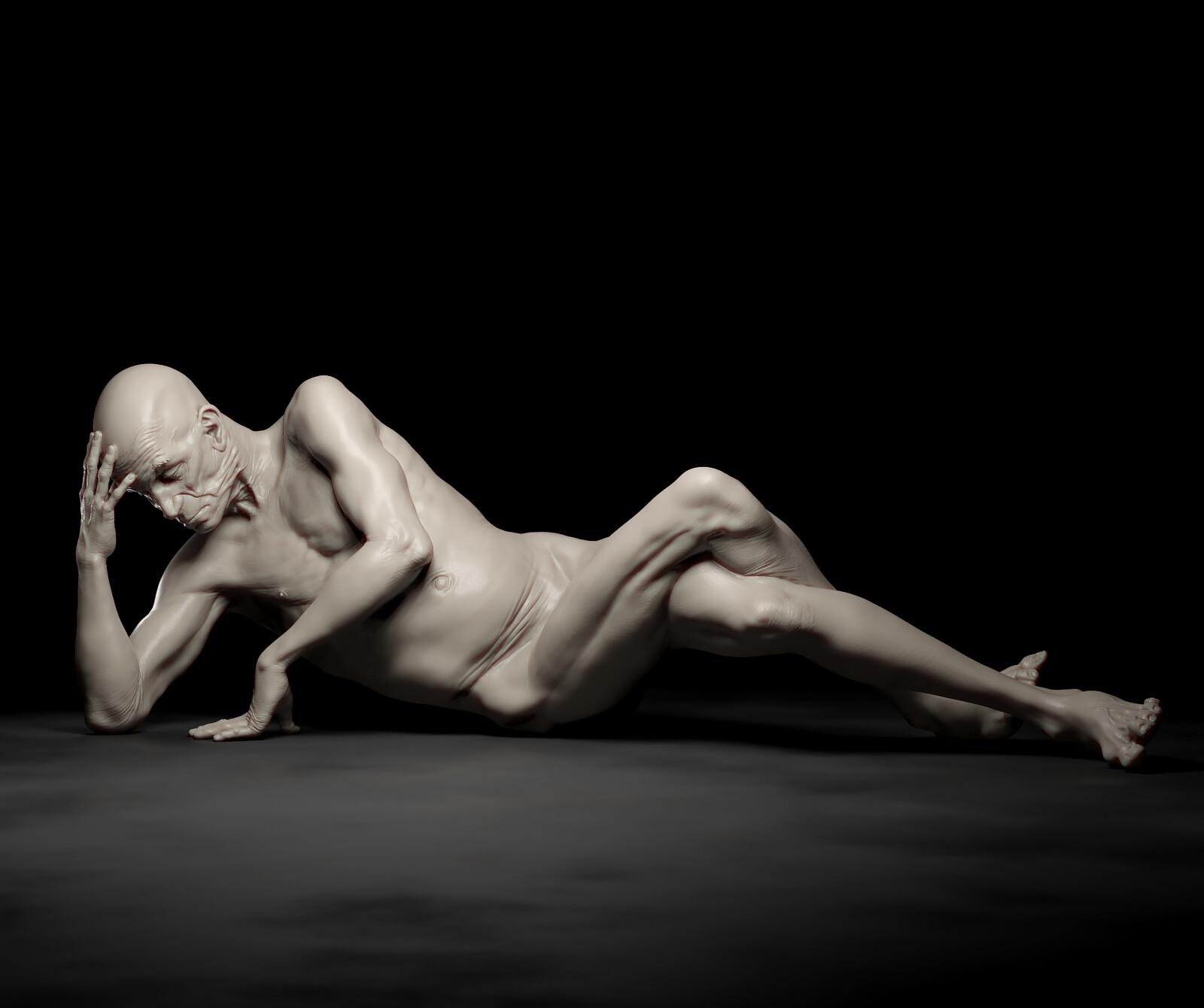 Anatomy and Pose Study