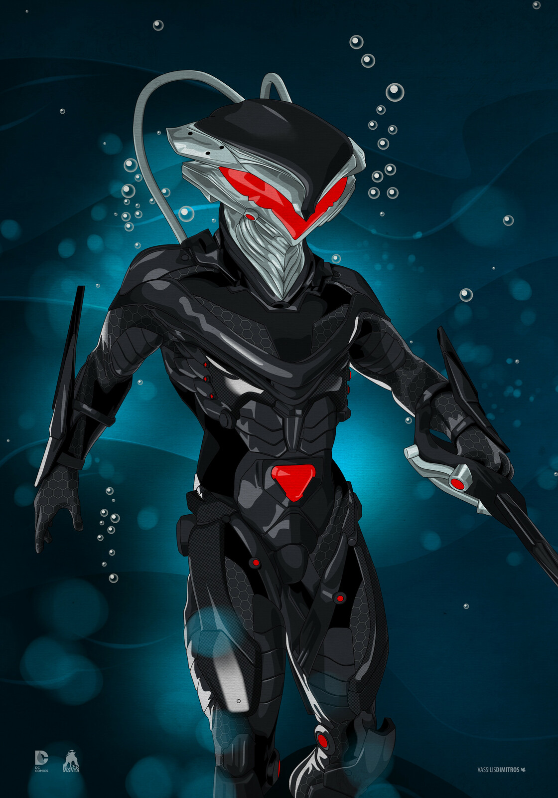 Black Manta Spacial thanks to Lukas Schneider for his valuable help providing a solid reference, for this one!