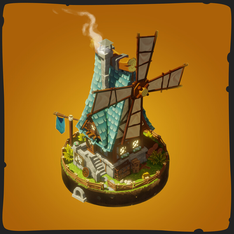 Windmill - FANTASTIC Village Pack