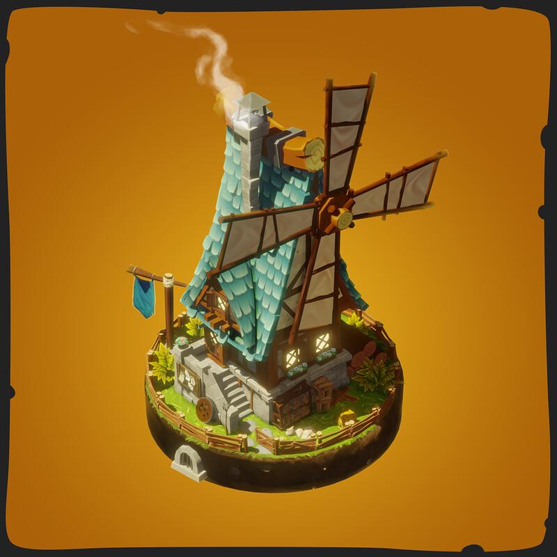 Windmill - FANTASTIC Village Pack