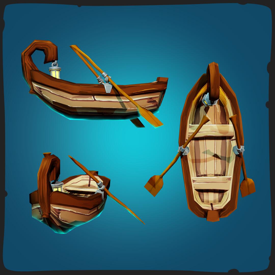 Tidal flask studios rowboat 02 frame