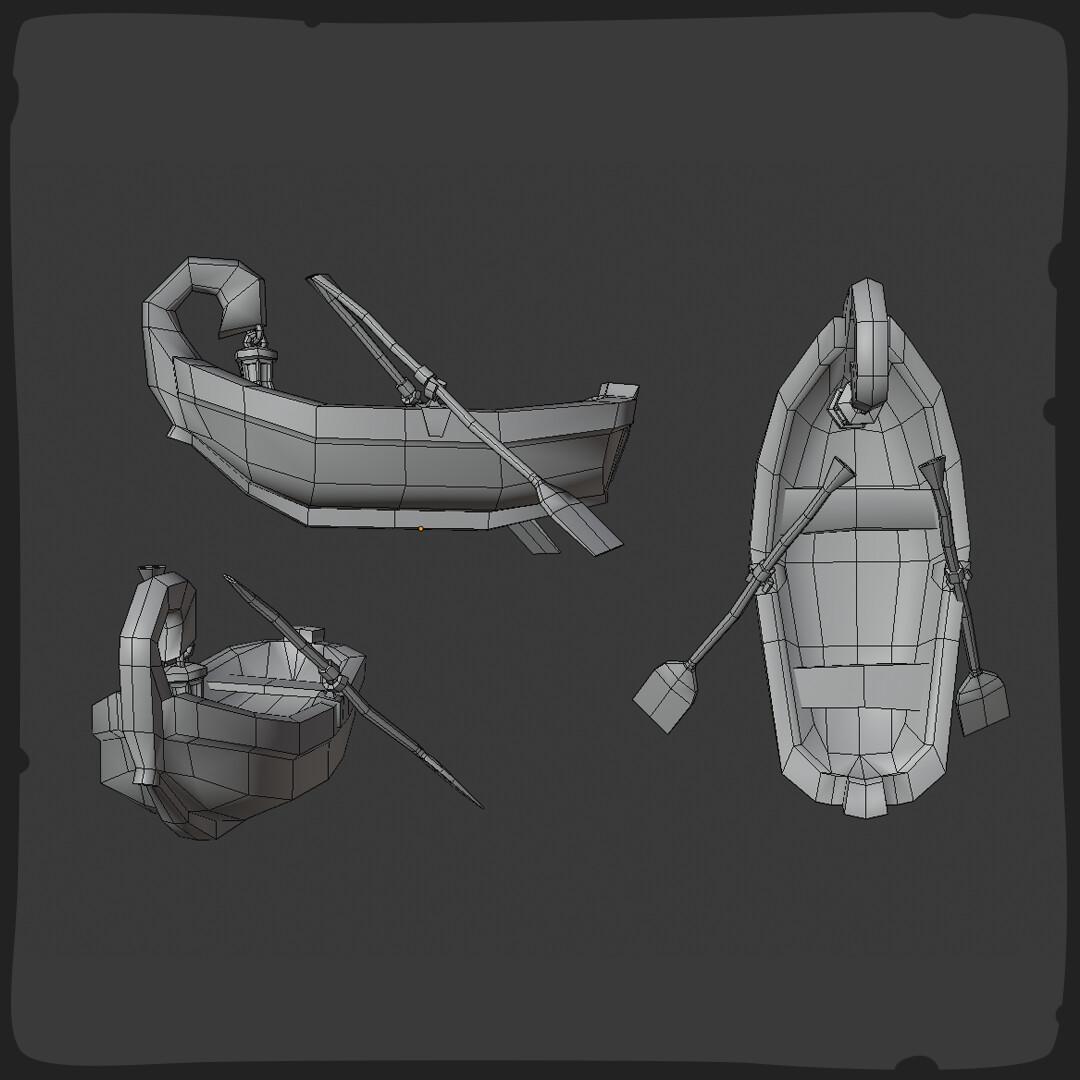 Tidal flask studios rowboat 03 frame