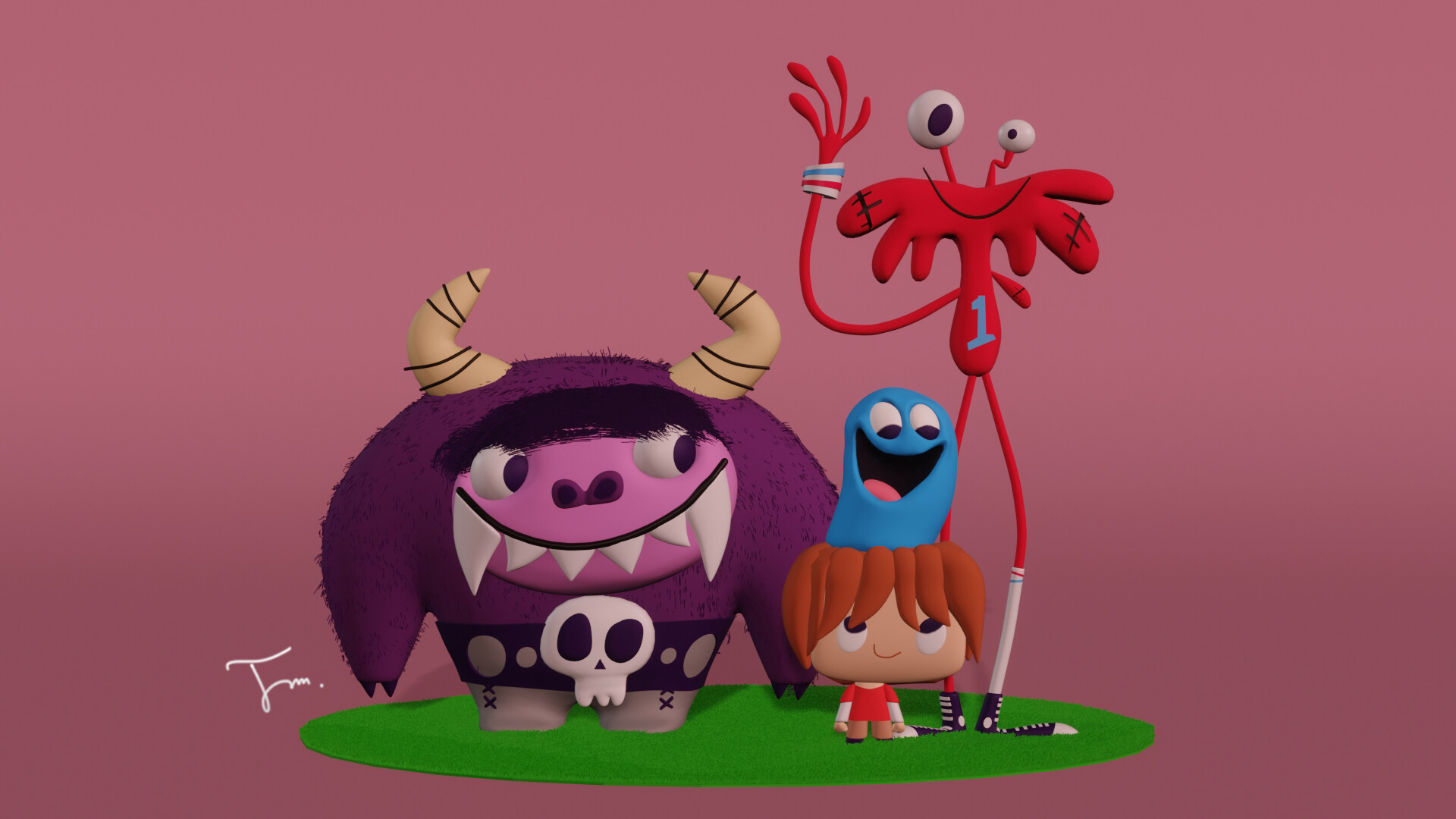 Artstation Foster S Home For Imaginary Friends Jihed Mhedhbi