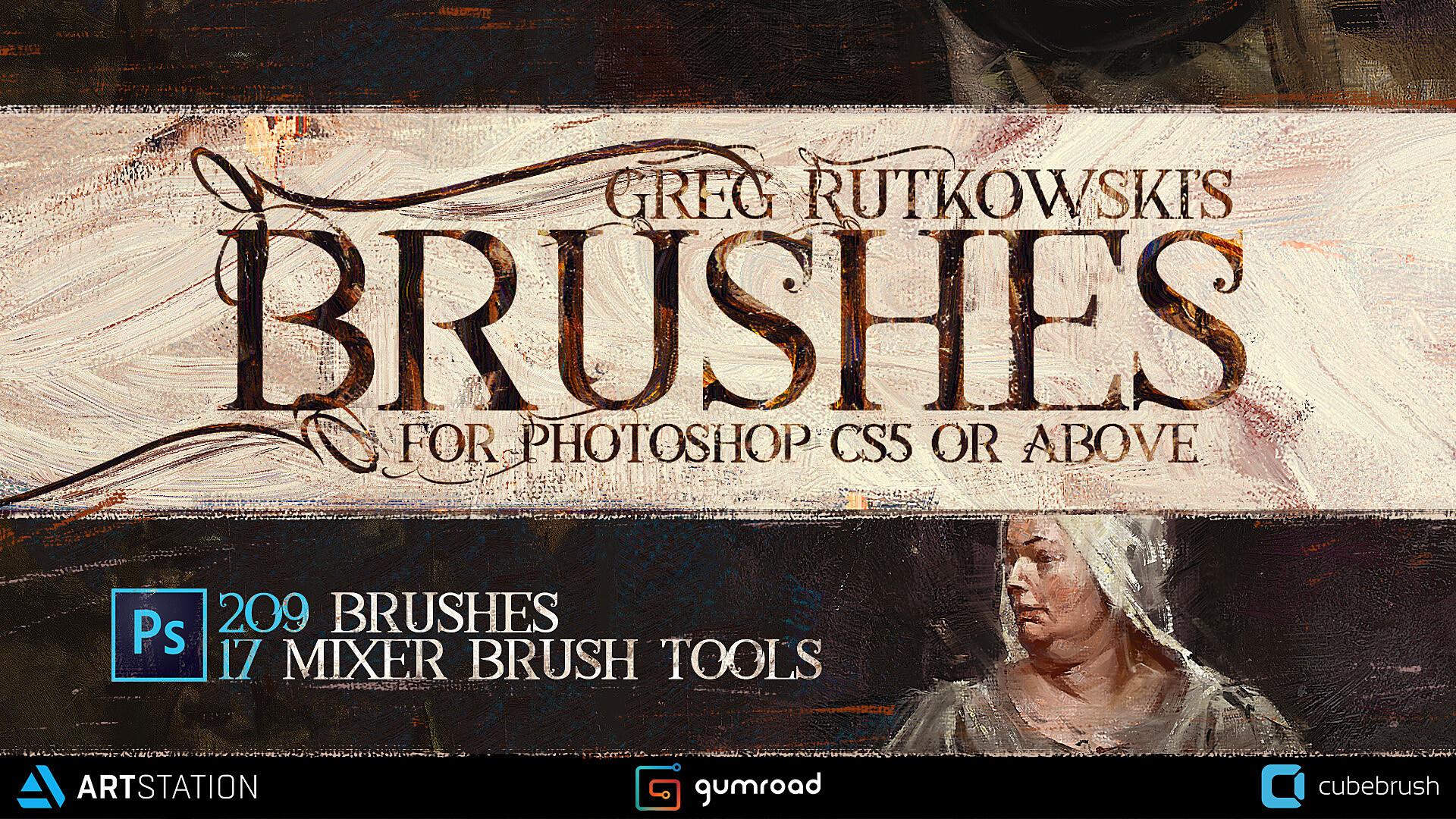 Greg rutkowski ultimate brushes