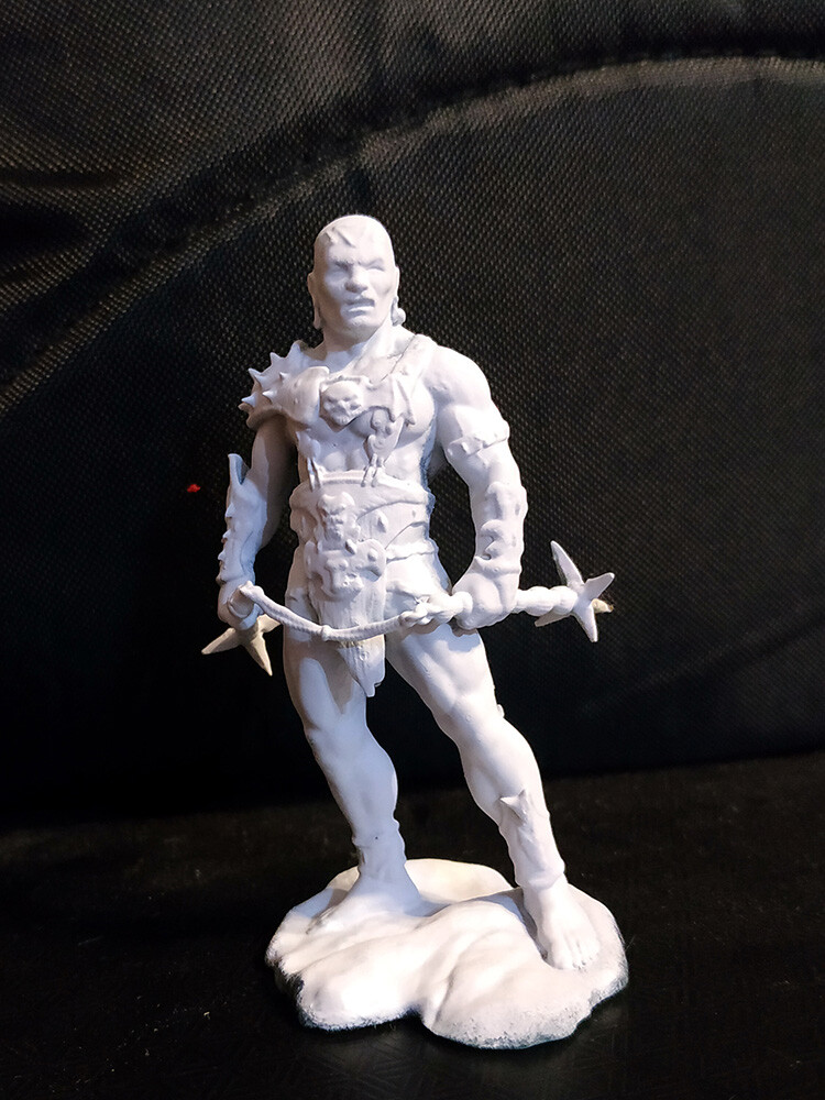75mm print on 3D printer.