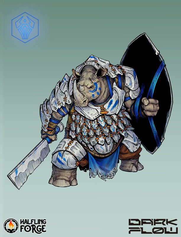 Xabi gazte 05 circle of raum ktar warrior