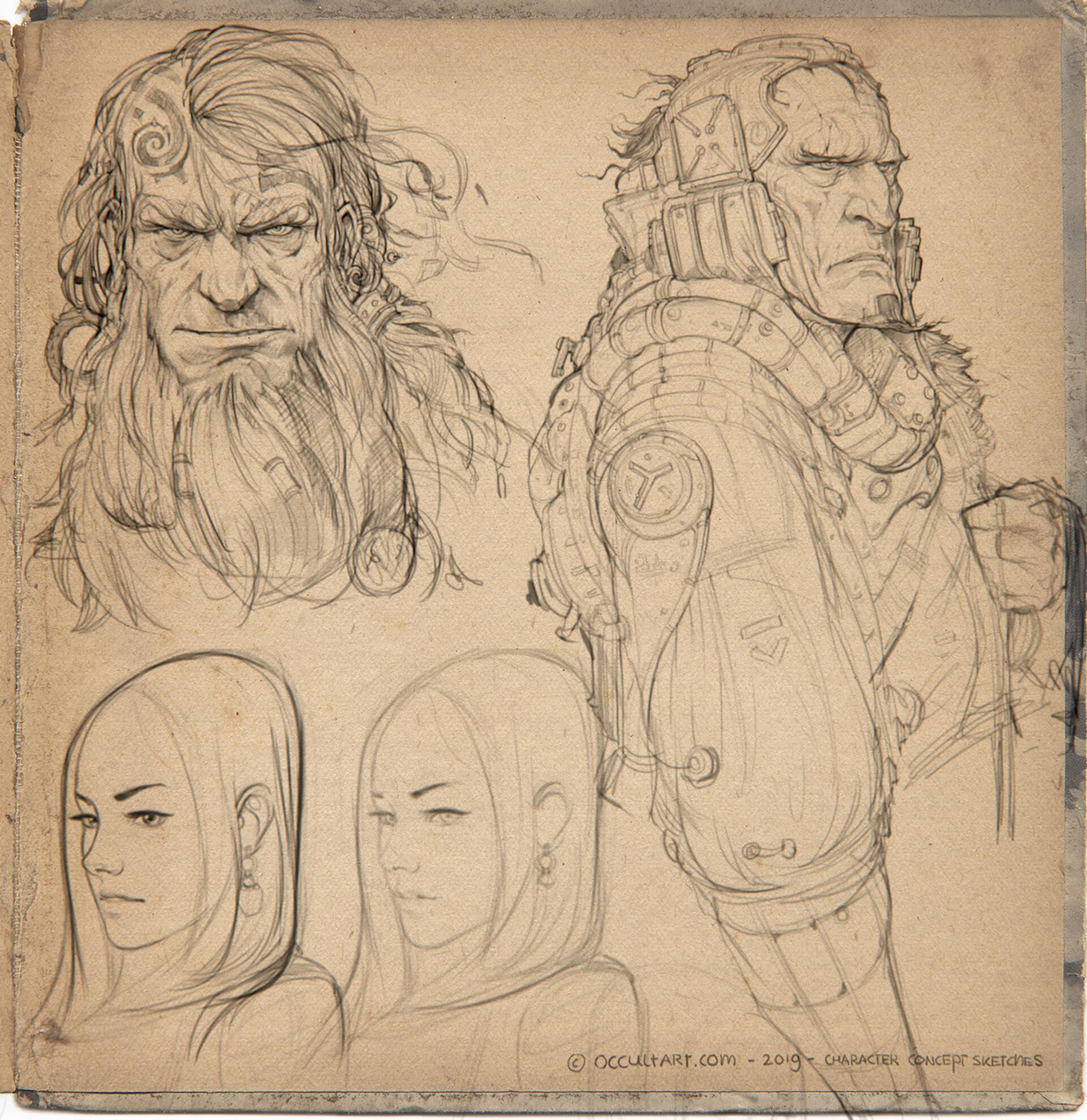 Occultart   concept sketches a01 004