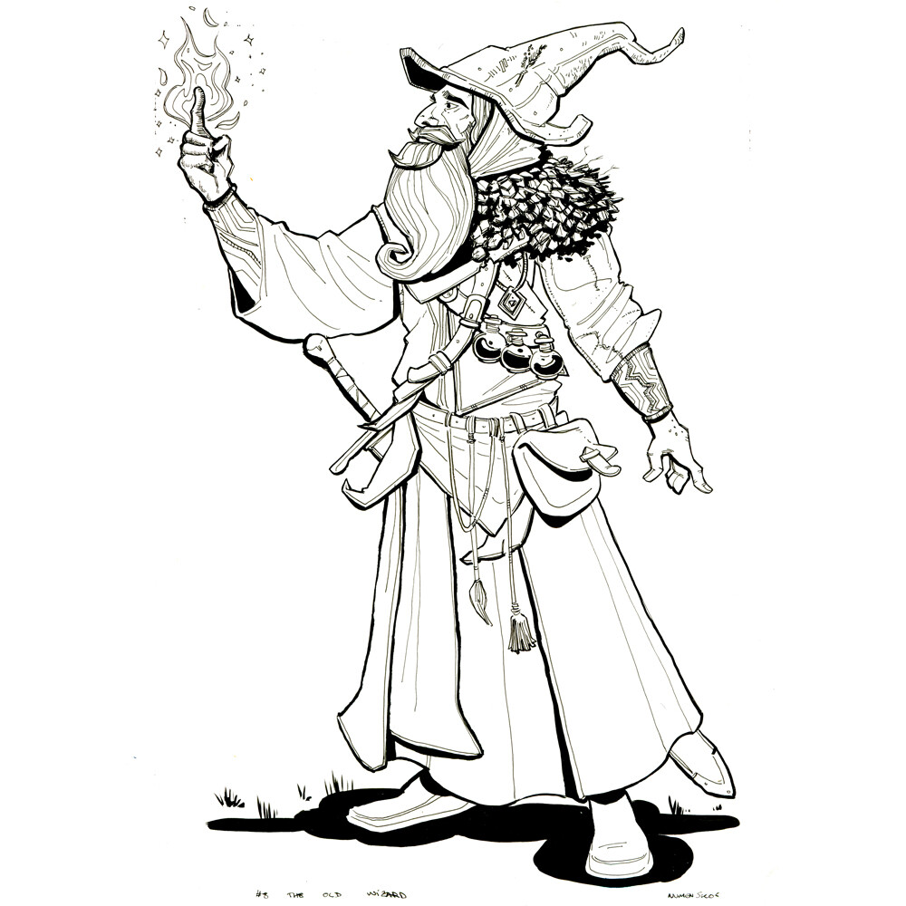 Day 8: The Old Wizard