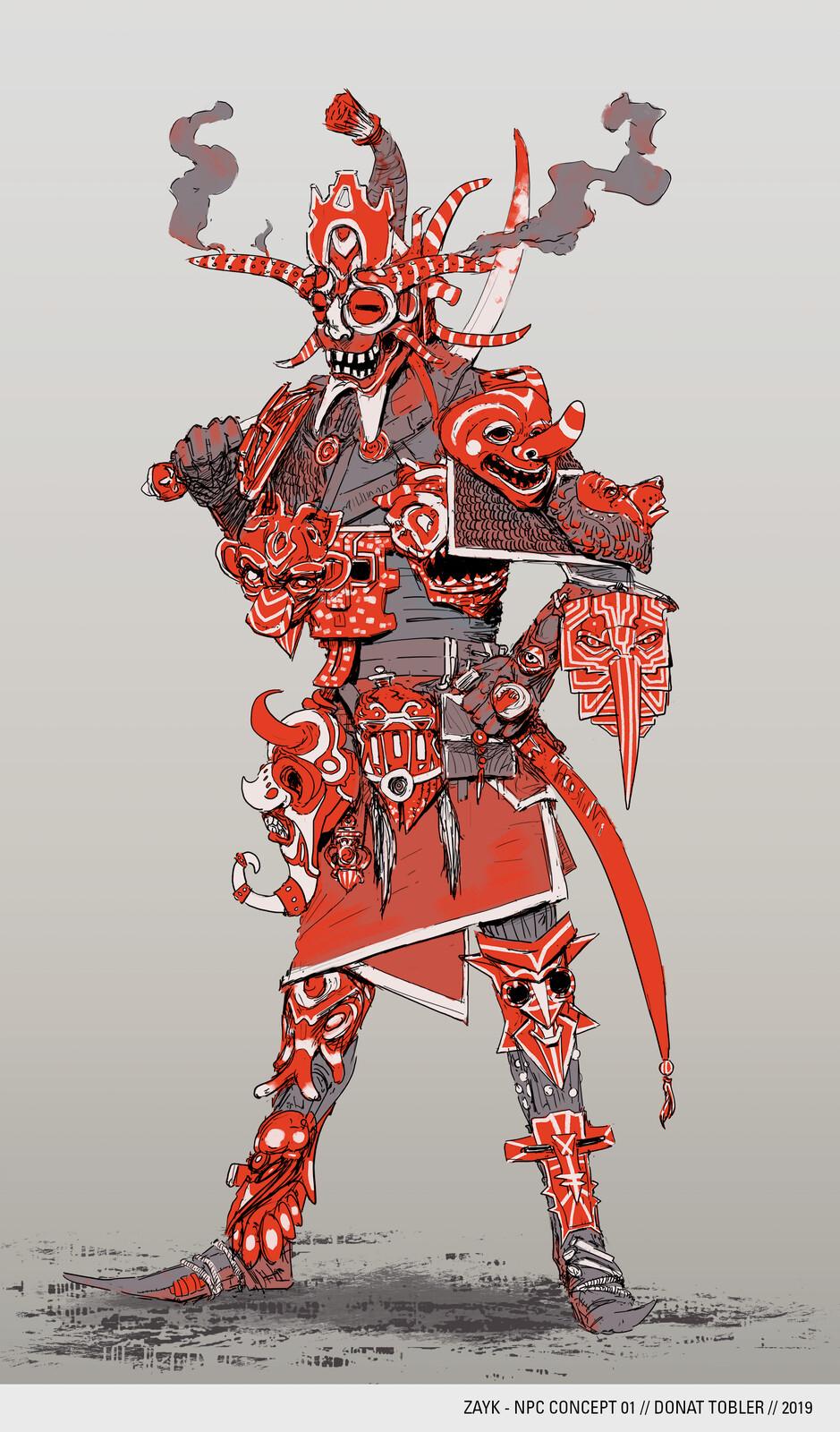 Zayk - NPC Concepts