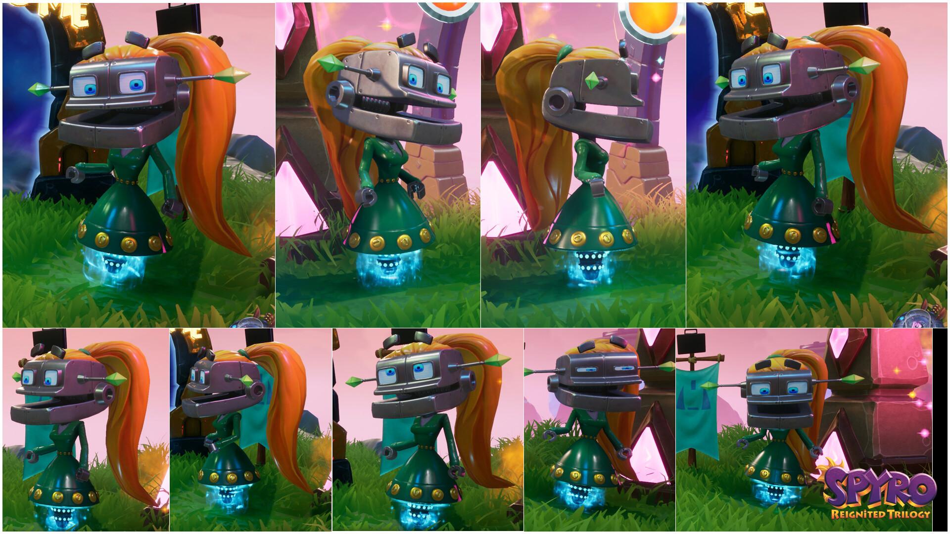 Alexandra jackson spyrotrilogy droidf collage
