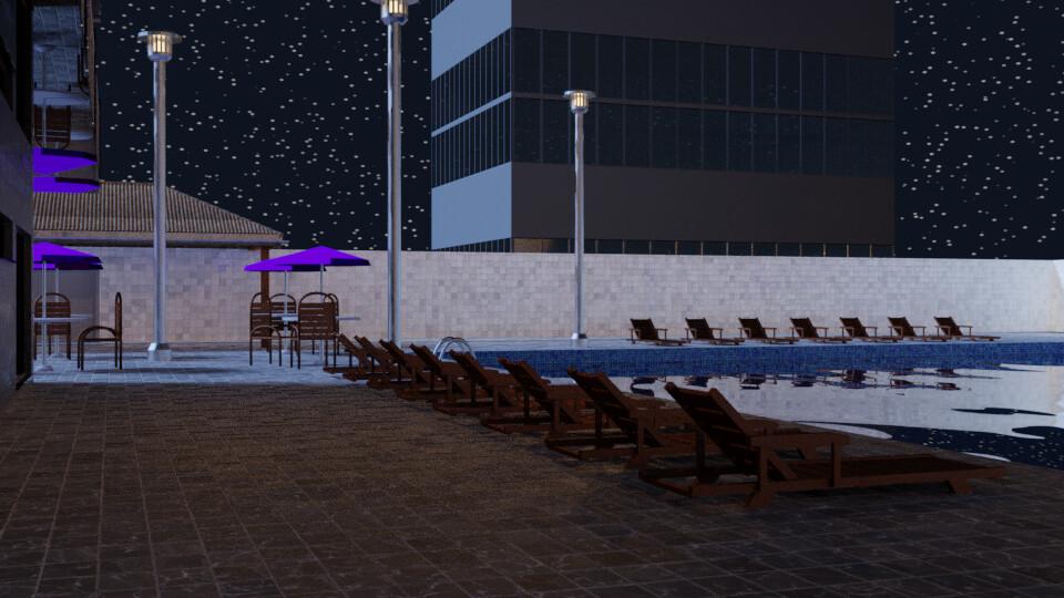 Pool at Night 6