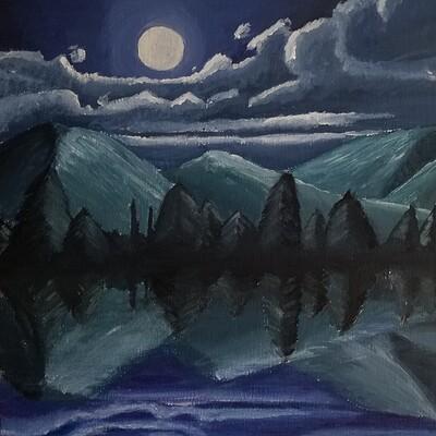 Daniel denta mountain moonscape