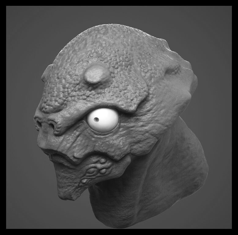 Alien based on a grunt from Halo?