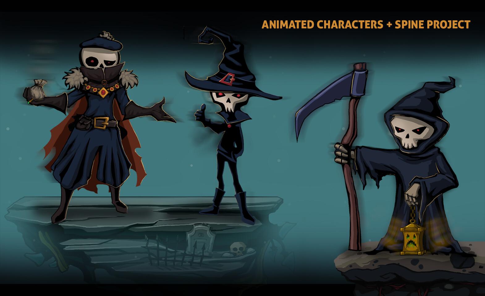 UI Characters