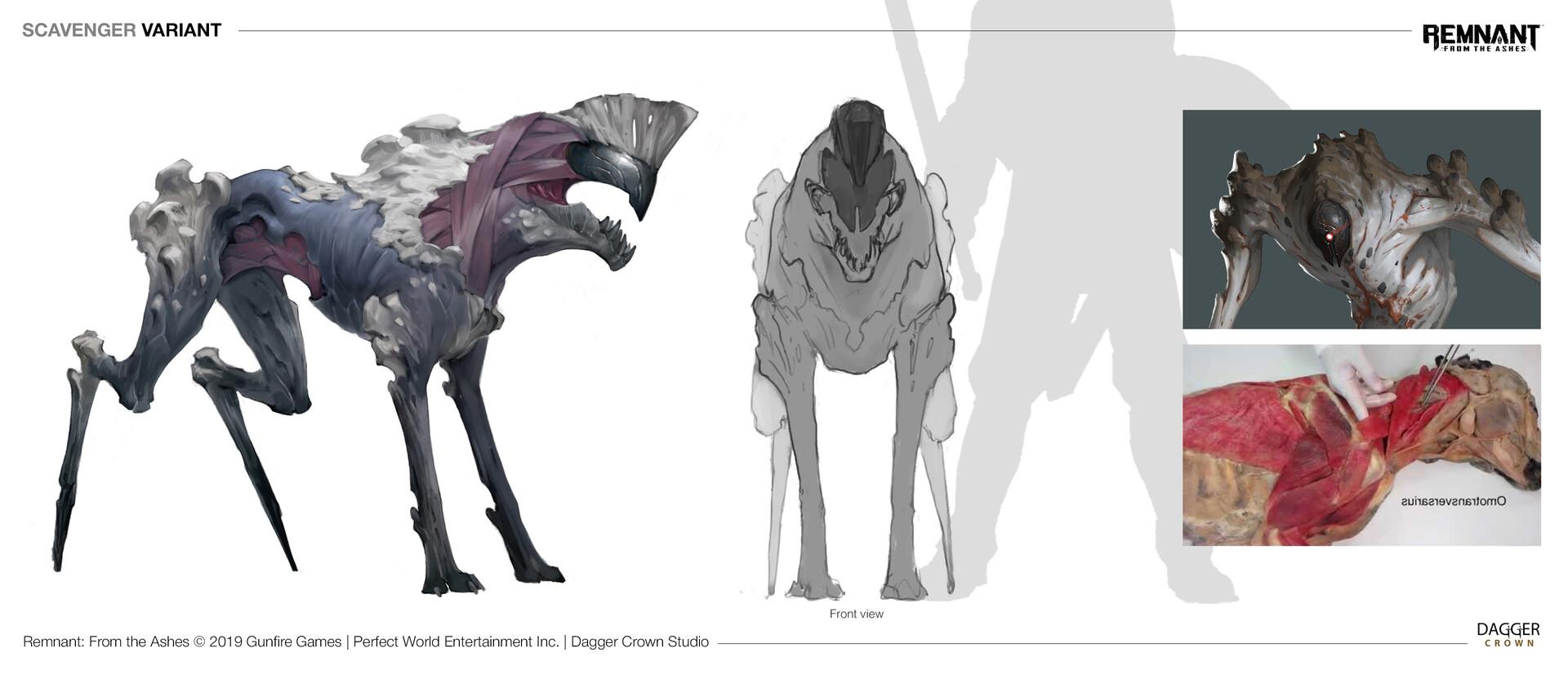 Irina nordsol kuzmina scavenger v2 concept sheet