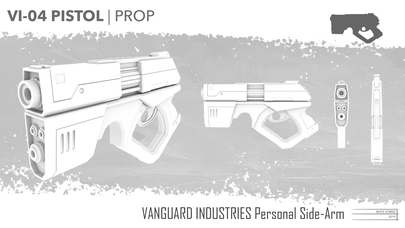 Vanguard Industries Pistol