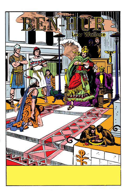 Digital restoration and colouring for Classics Illustrated - Art by Joe Orlando.