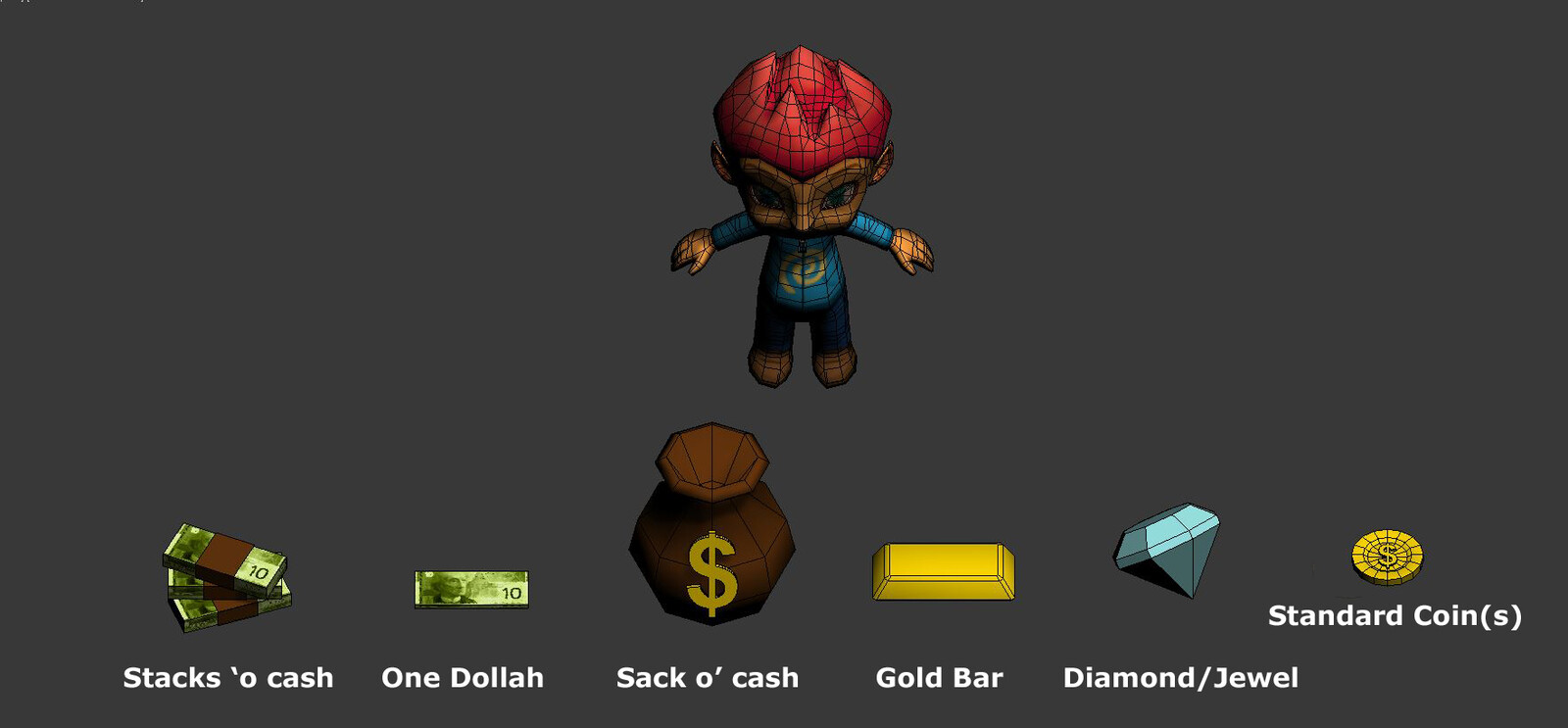 Unused currency pickup ideations