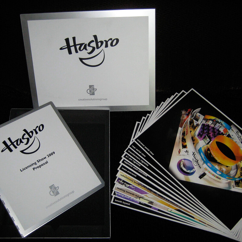 Hasbro Licensing Show 2009 Proposal